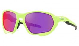 Oakley Plazma Sunglasses - Matte Retina Burn / Prizm Road