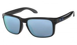 Oakley Holbrook Sunglasses - Polished Black / Prizm Deep Water Polarised