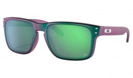 Oakley Holbrook Sunglasses - Troy Lee Designs Collection Matte Purple Green Shift / Prizm Jade