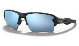 Oakley Flak 2.0 XL Sunglasses - Matte Black / Prizm Deep Water Polarised