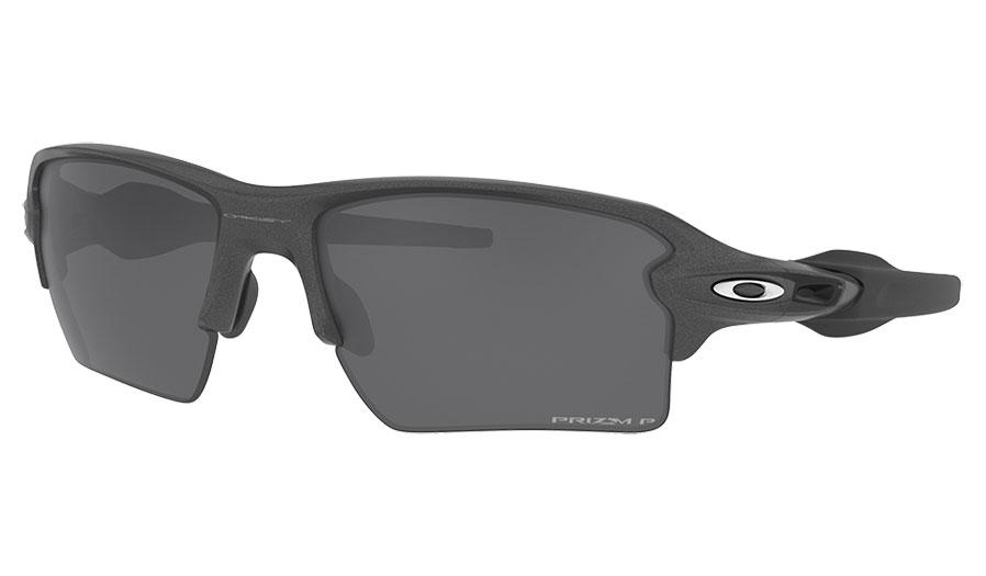 Oakley Flak 2.0 XL Sunglasses - Steel / Prizm Black Polarised