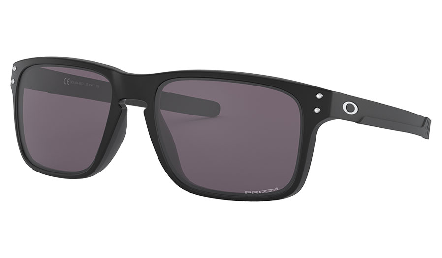 Oakley Holbrook Mix Sunglasses - Matte Black / Prizm Grey