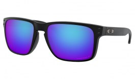 Oakley Holbrook XL Sunglasses - Matte Black / Prizm Sapphire Polarised