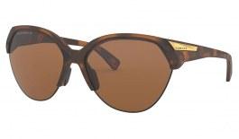 Oakley Trailing Point Sunglasses - Matte Brown Tortoise / Prizm Tungsten Polarised
