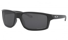 Oakley Gibston Sunglasses - Matte Black / Prizm Black Polarised