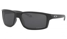 Oakley Gibston Sunglasses - Matte Black / Prizm Black Polarised