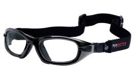 Progear Eyeguard Goggles - Shiny Metallic Black / Clear