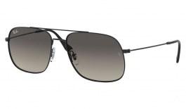 Ray-Ban RB3595 Andrea Sunglasses - Black / Grey Gradient
