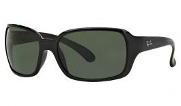 Ray-Ban RB4068 Sunglasses - Black / Green