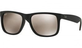 Ray-Ban RB4165 Justin Sunglasses - Black / Gold Mirror