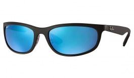 Ray-Ban RB4265 Sunglasses - Black / Blue Mirror Chromance Polarised