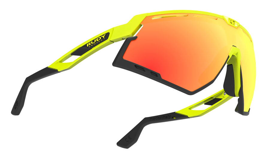 fb40cc3983 Rudy Project Defender Sunglasses - Fluo Yellow   Black   Multilaser ...