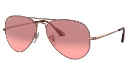 Ray-Ban RB3689 Sunglasses - Bronze Copper / Evolve Red Gradient Photochromic