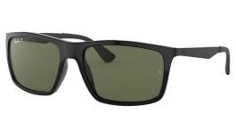 Ray-Ban RB4228 Sunglasses - Black / Green Polarised