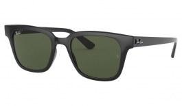 Ray-Ban RB4323 Sunglasses - Black / Green
