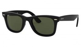 Ray-Ban RB4340 Wayfarer Ease Sunglasses - Black / Green