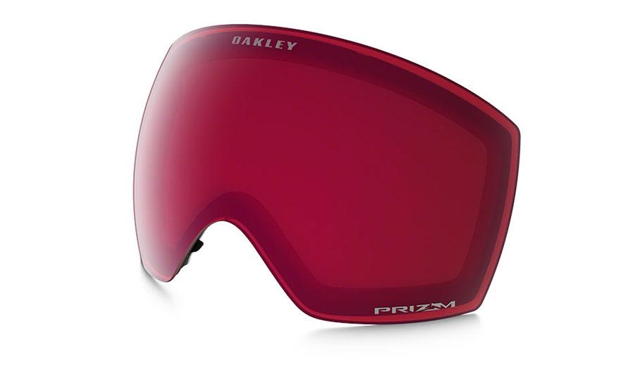 Oakley Flight Deck XM Ski Goggles Replacement Lens Kit - Prizm Rose