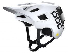 POC Kortal Race MIPS Mountain Bike Helmet - Hydrogen White & Matte Uranium Black