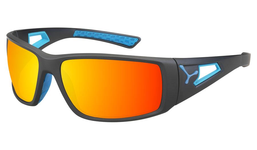 d74fdd26a2 Cebe Session Prescription Sunglasses - Matte Grey   Blue - RxSport