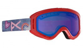 Anon Tracker Ski Goggles - Girl Power / Blue Amber
