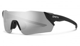 Smith Attack MAG Sunglasses - Matte Black / ChromaPop Platinum + ChromaPop Contrast Rose