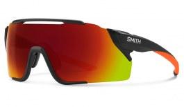 Smith Attack MAG MTB Sunglasses - Matte Black Cinder / ChromaPop Red Mirror + ChromaPop Low Light Amber