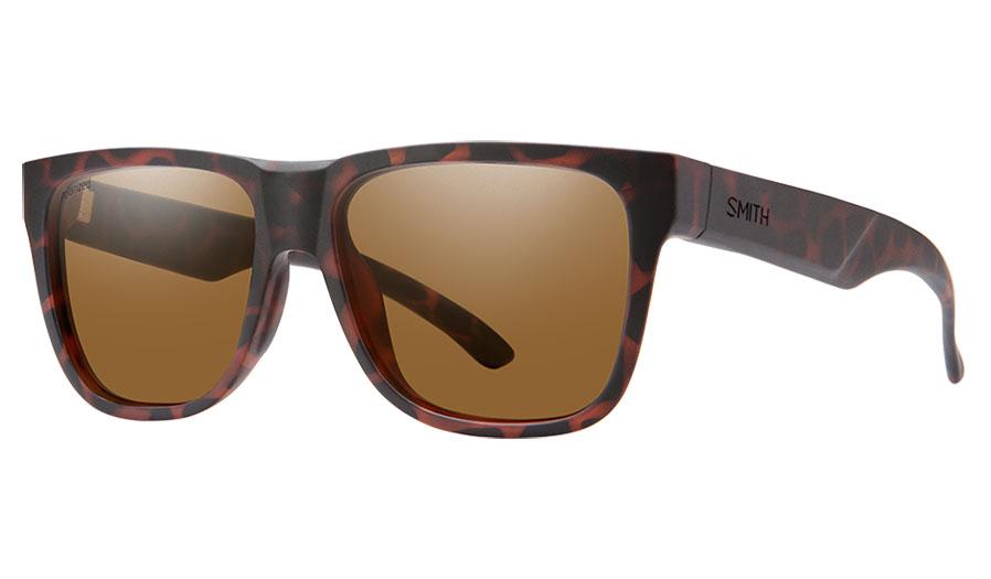 Smith Lowdown 2 CORE Sunglasses - Matte Tortoise / Brown Polarised