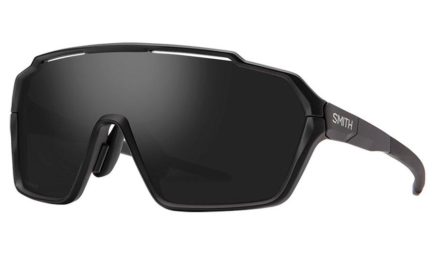 Smith Shift MAG Sunglasses - Matte Black / ChromaPop Black + Clear
