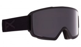Anon M3 Ski Goggles - Smoke (Snapback Strap) / Perceive Sunny Onyx + Perceive Variable Violet