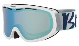 Bolle Sierra Ski Goggles - White & Mint / Aurora