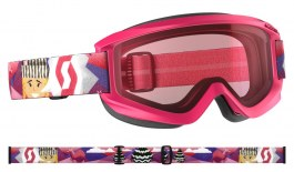 Scott Jr Agent Ski Goggles - Pink / Enhancer