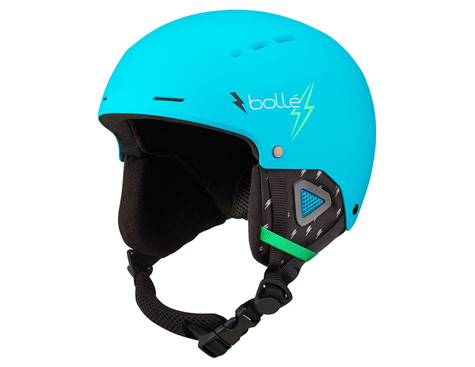 Bolle Quiz Ski Helmet - Matte Cyan Flash