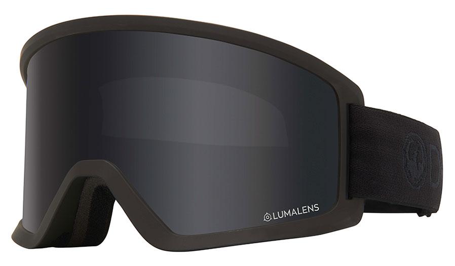 Dragon DX3 OTG Ski Goggles - Blackout / Lumalens Dark Smoke + Lumalens Amber