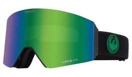 Dragon RVX OTG Ski Goggles - Split / Lumalens Green Ion + Lumalens Amber
