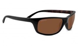 Serengeti Bormio Sunglasses - Shiny Black & Tortoise / Drivers Polarised Photochromic