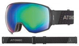 Atomic Count 360 Ski Goggles - Black / Green Stereo HD