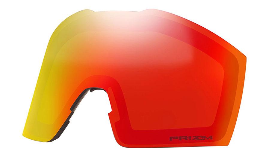 Oakley Fall Line XL Ski Goggles Replacement Lens Kit - Prizm Torch Iridium