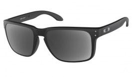 Oakley Holbrook XL Prescription Sunglasses - Matte Black (Satin Chrome Icon)