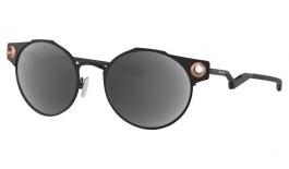 Oakley Deadbolt Prescription Sunglasses - Satin Black & Rose Gold