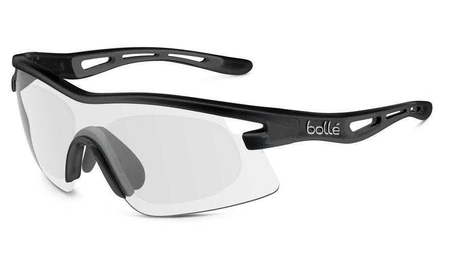 39e1c62c847 Bolle Vortex Prescription Sunglasses - Shiny Black - RxSport