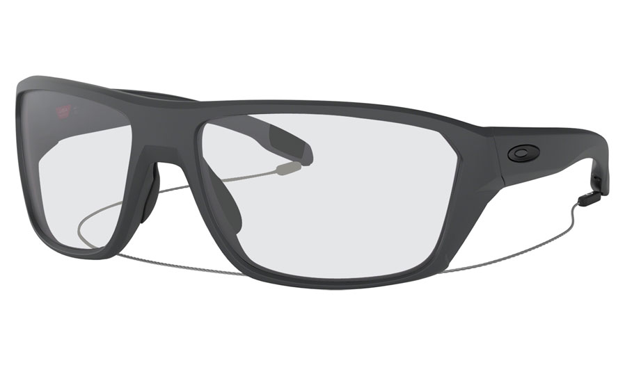 24d35ed760 Oakley Split Shot Prescription Sunglasses - Matte Carbon - RxSport