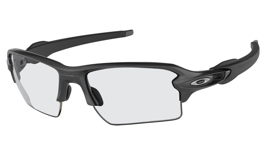 fd1ec82cb7e Oakley Flak 2.0 XL Prescription Sunglasses - Steel - RxSport