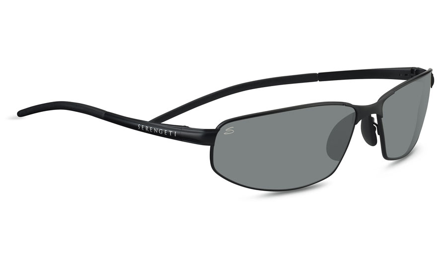 58fe0a7c35 Serengeti Granada Prescription Sunglasses - Satin Black - RxSport