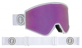 Electric Kleveland Ski Goggles - Matte White / Brose Pink Chrome