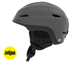 Giro Zone MIPS Ski Helmet - Matte Titanium & Black