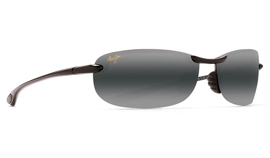 Maui Jim Makaha Prescription Sunglasses - Gloss Black