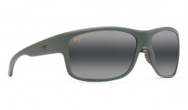 Maui Jim Southern Cross Prescription Sunglasses - Soft Matte Khaki with Brown and Black