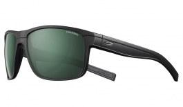 Julbo Renegade Sunglasses - Matte Black / Polarised 3 Green