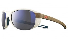 Julbo Regatta Sunglasses - White & Light Brown / Octopus Polarised Photochromic