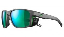 Julbo Shield Sunglasses - Matte Grey & Green / Spectron 3 CF Green